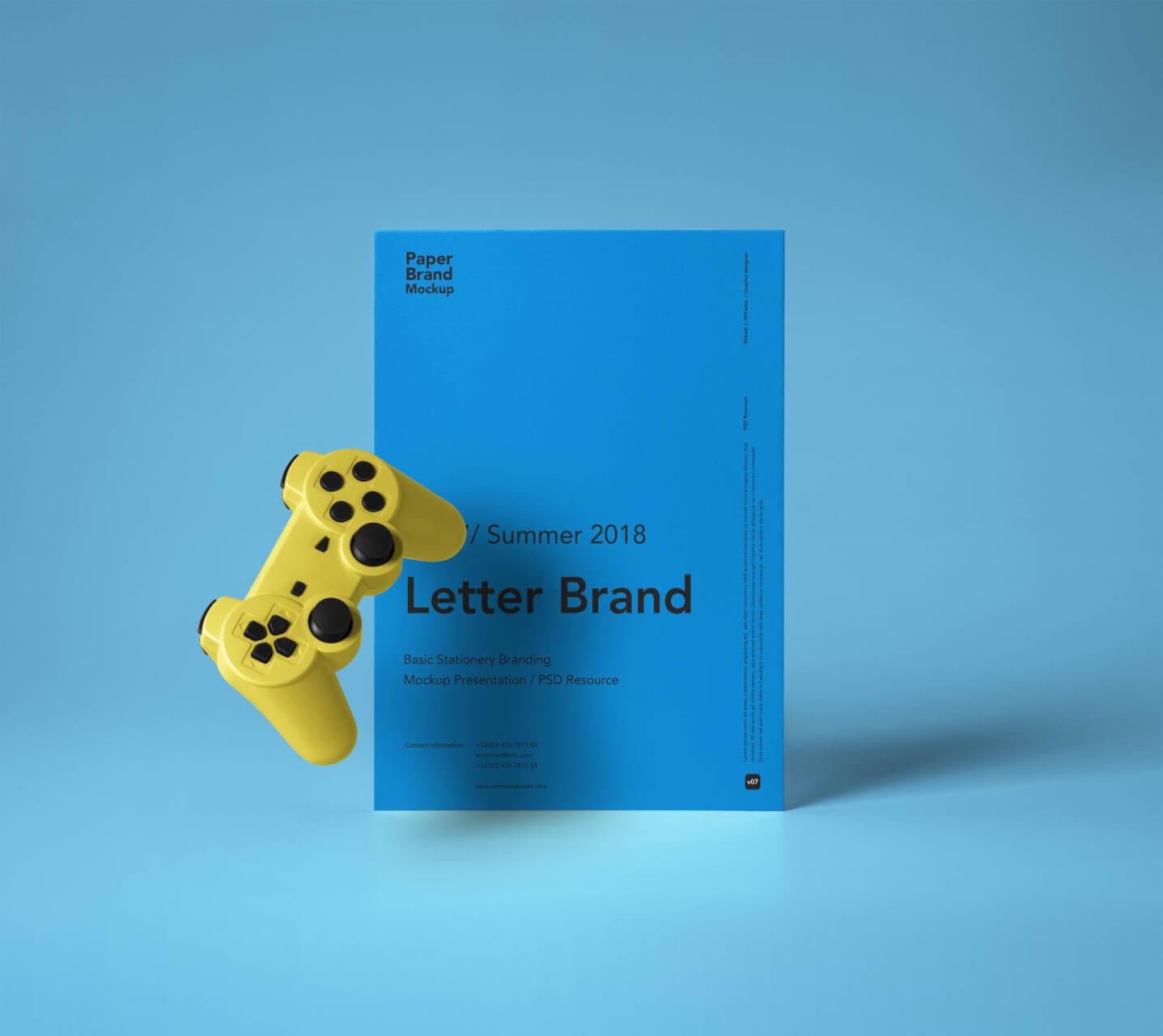 Letter Brand