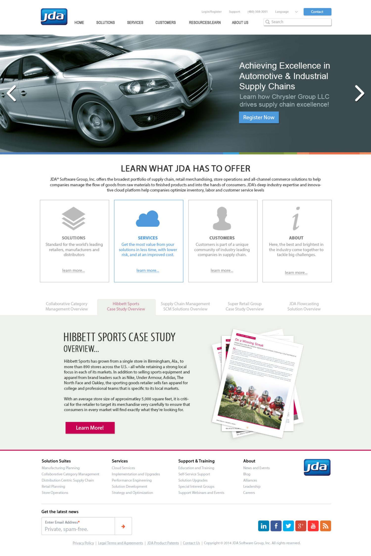 JDA Website V1