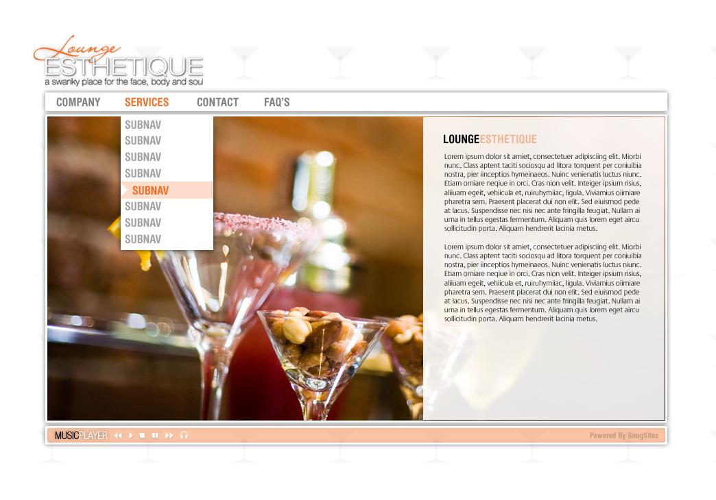 Lounge Esthetique